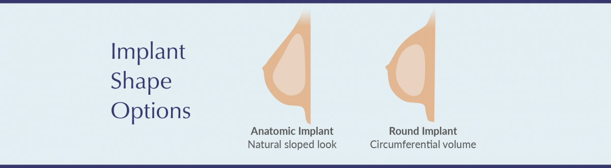 implant shape options infographic