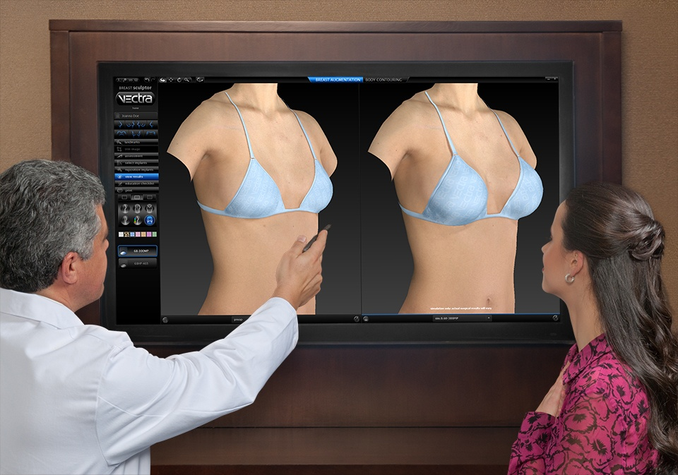 dotcor showing patient interactive vectra