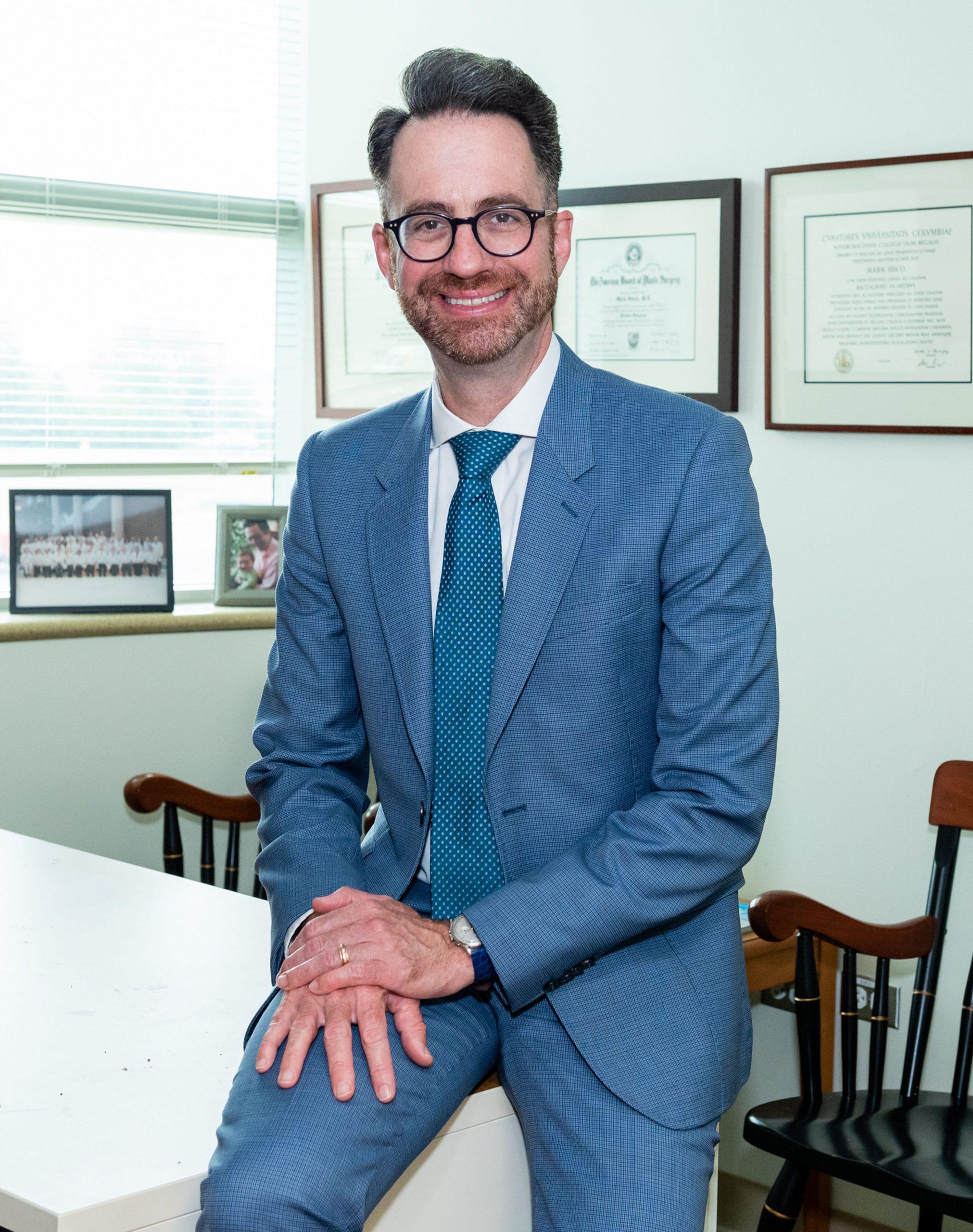 Cosmetic plastic surgeon Dr. Sisco